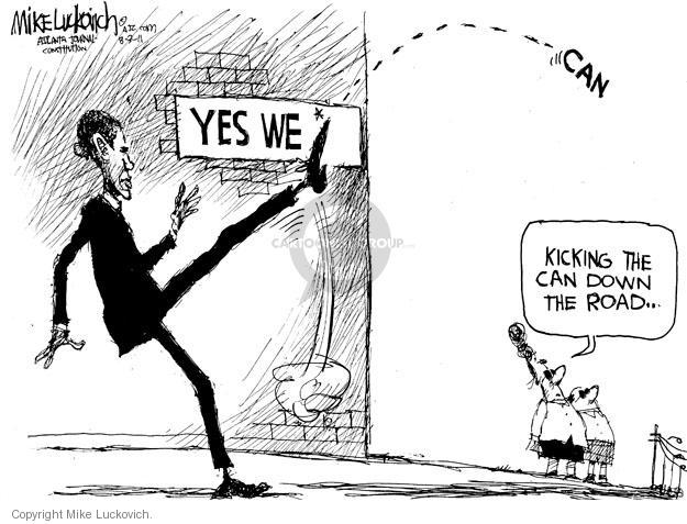 Mike Luckovich  Mike Luckovich's Editorial Cartoons 2011-08-03 federal budget