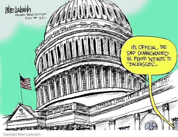 Mike Luckovich  Mike Luckovich's Editorial Cartoons 2011-08-09 official