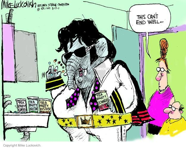 Mike Luckovich  Mike Luckovich's Editorial Cartoons 2011-08-17 impersonation