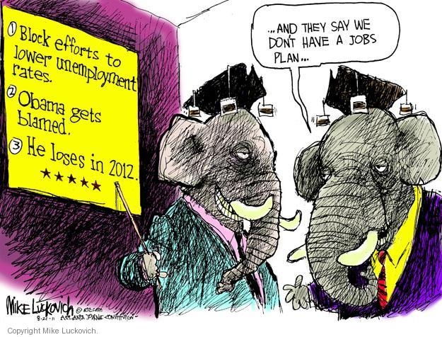Mike Luckovich  Mike Luckovich's Editorial Cartoons 2011-08-21 republican politician