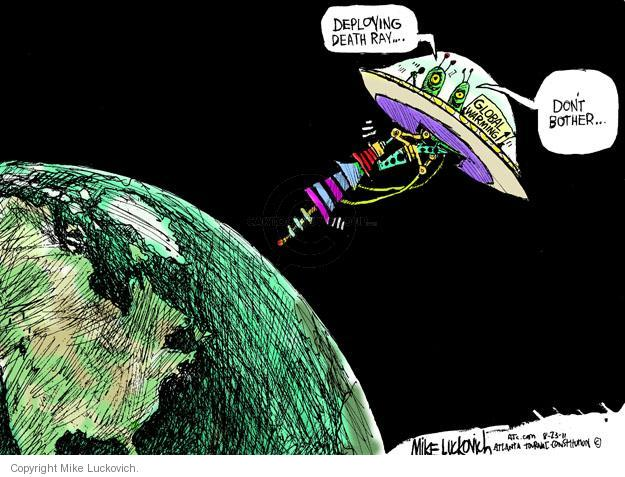 Mike Luckovich  Mike Luckovich's Editorial Cartoons 2011-08-23 environment