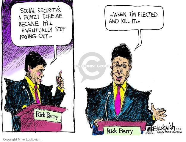 Mike Luckovich  Mike Luckovich's Editorial Cartoons 2011-09-09 security