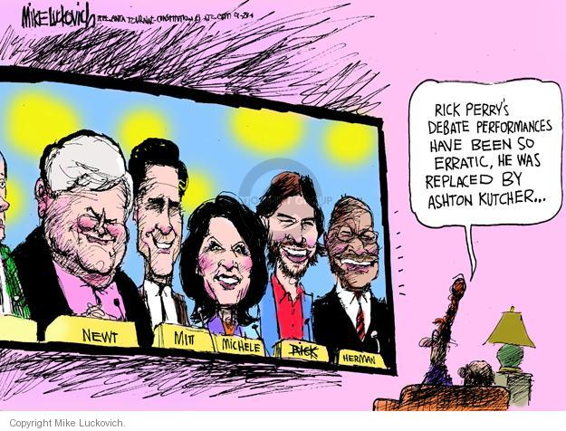 Mike Luckovich  Mike Luckovich's Editorial Cartoons 2011-09-28 republican politician
