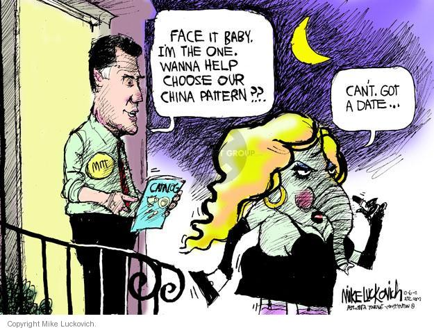 Mike Luckovich  Mike Luckovich's Editorial Cartoons 2011-10-06 China