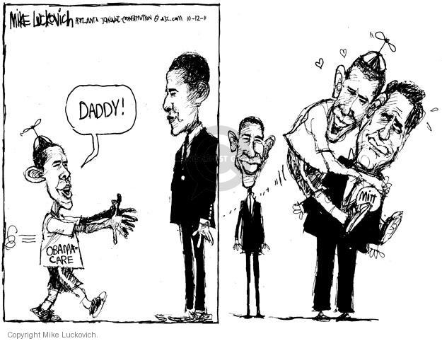 Mike Luckovich  Mike Luckovich's Editorial Cartoons 2011-10-12 former president