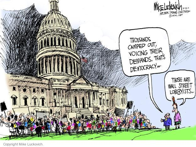 Mike Luckovich  Mike Luckovich's Editorial Cartoons 2011-10-13 demand