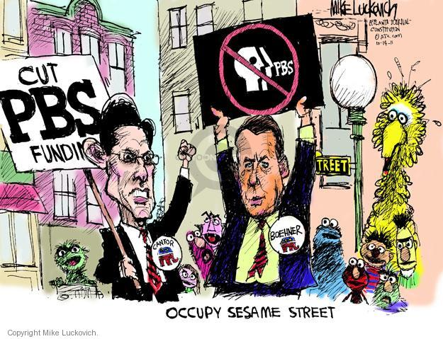 Mike Luckovich  Mike Luckovich's Editorial Cartoons 2011-10-14 Eric Cantor