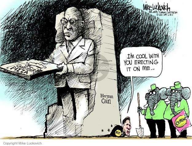 Mike Luckovich  Mike Luckovich's Editorial Cartoons 2011-10-18 presidential election