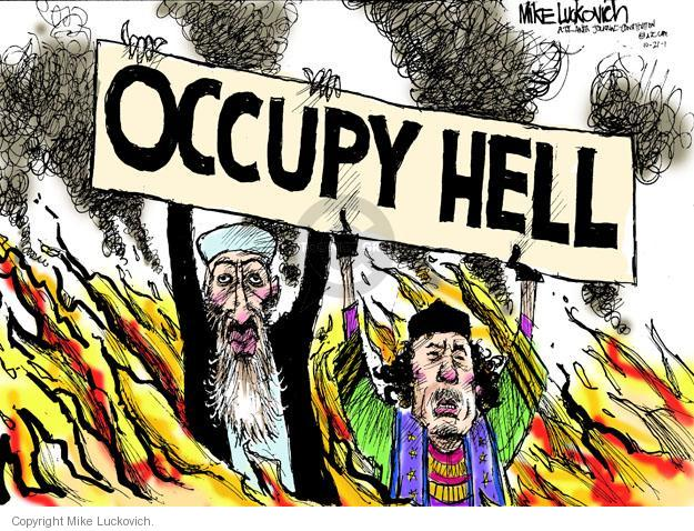 Occupy Hell.
