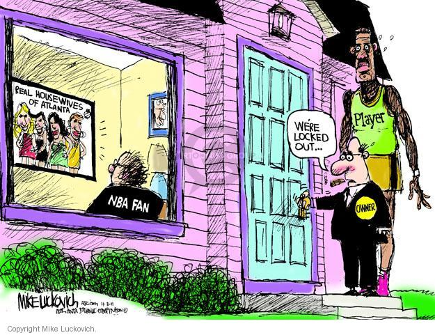 Cartoonist Mike Luckovich  Mike Luckovich's Editorial Cartoons 2011-11-03 television show