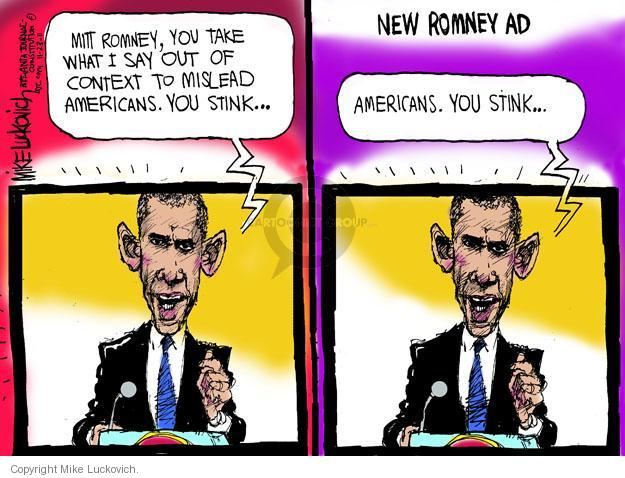 Mike Luckovich  Mike Luckovich's Editorial Cartoons 2011-11-23 former president