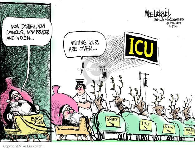 Cartoonist Mike Luckovich  Mike Luckovich's Editorial Cartoons 2011-11-29 Greek economy