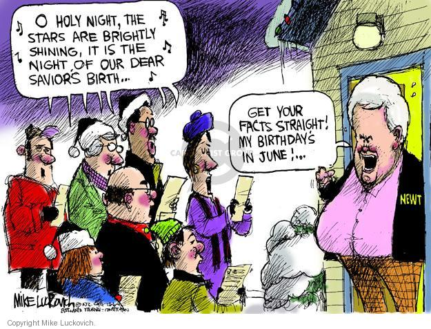 Mike Luckovich  Mike Luckovich's Editorial Cartoons 2011-12-06 republican politician