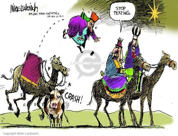Mike Luckovich  Mike Luckovich's Editorial Cartoons 2011-12-14 tech
