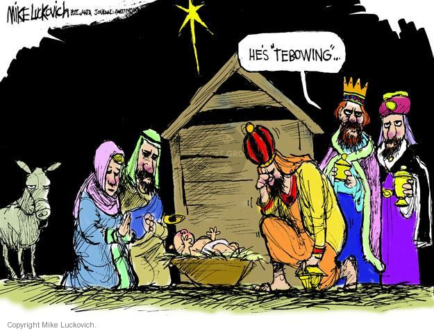 Mike Luckovich  Mike Luckovich's Editorial Cartoons 2011-12-16 three