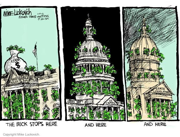 Mike Luckovich  Mike Luckovich's Editorial Cartoons 2012-01-17 branch of government
