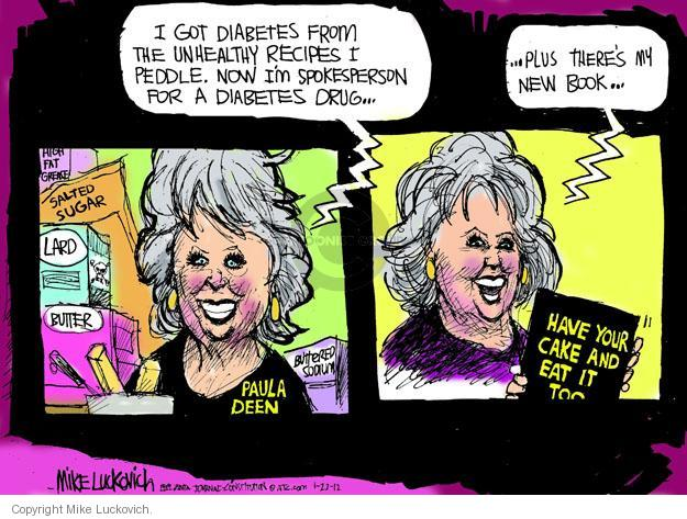 Cartoonist Mike Luckovich  Mike Luckovich's Editorial Cartoons 2012-01-22 drug