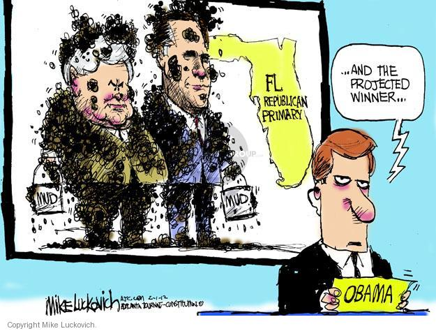 Mike Luckovich  Mike Luckovich's Editorial Cartoons 2012-02-01 former president