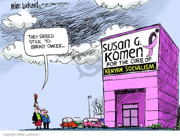 Mike Luckovich  Mike Luckovich's Editorial Cartoons 2012-02-03 cancer