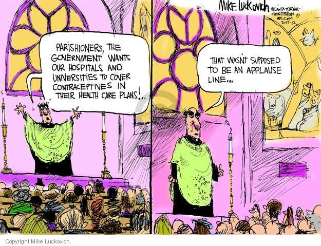 Mike Luckovich  Mike Luckovich's Editorial Cartoons 2012-02-10 health