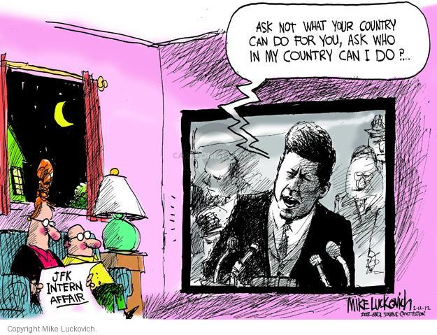 Mike Luckovich  Mike Luckovich's Editorial Cartoons 2012-02-12 former president