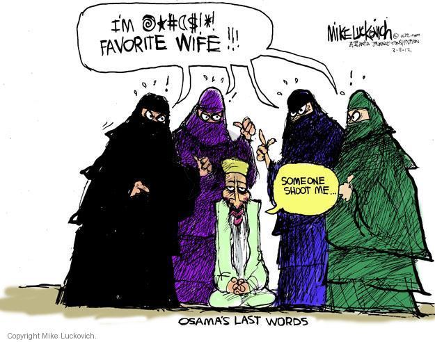 Cartoonist Mike Luckovich  Mike Luckovich's Editorial Cartoons 2012-03-11 shoot