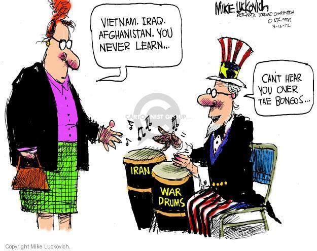 Cartoonist Mike Luckovich  Mike Luckovich's Editorial Cartoons 2012-03-13 shoot