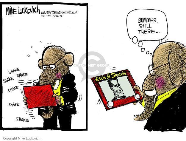Mike Luckovich  Mike Luckovich's Editorial Cartoons 2012-03-22 republican politician