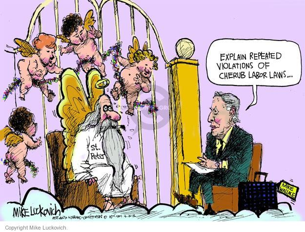 Mike Luckovich  Mike Luckovich's Editorial Cartoons 2012-04-10 Mike Wallace