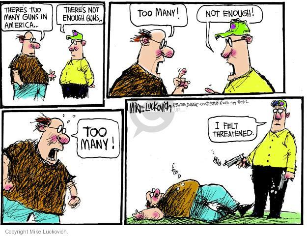 Cartoonist Mike Luckovich  Mike Luckovich's Editorial Cartoons 2012-04-12 feel
