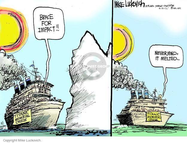 Mike Luckovich  Mike Luckovich's Editorial Cartoons 2012-04-15 sinking