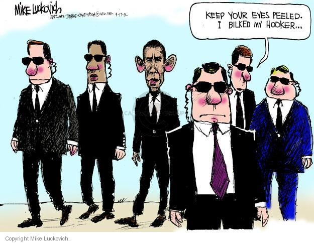 Mike Luckovich  Mike Luckovich's Editorial Cartoons 2012-04-17 Barack Obama