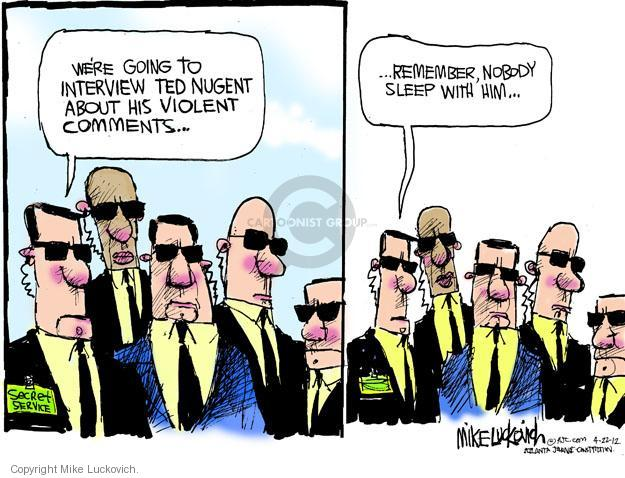 Mike Luckovich  Mike Luckovich's Editorial Cartoons 2012-04-22 security