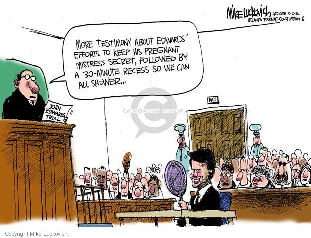 Cartoonist Mike Luckovich  Mike Luckovich's Editorial Cartoons 2012-05-02 courtroom