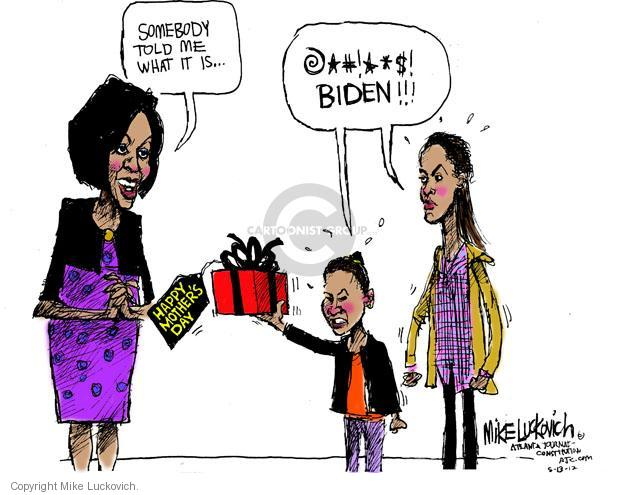 Mike Luckovich  Mike Luckovich's Editorial Cartoons 2012-05-13 Joe Biden