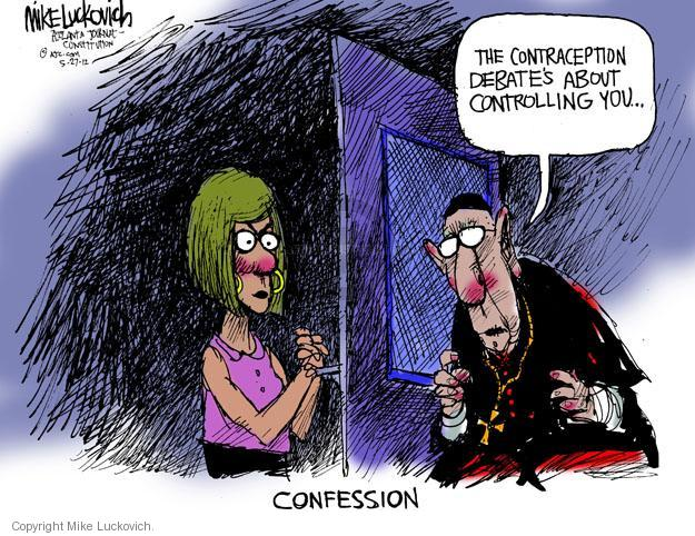 Cartoonist Mike Luckovich  Mike Luckovich's Editorial Cartoons 2012-06-05 health