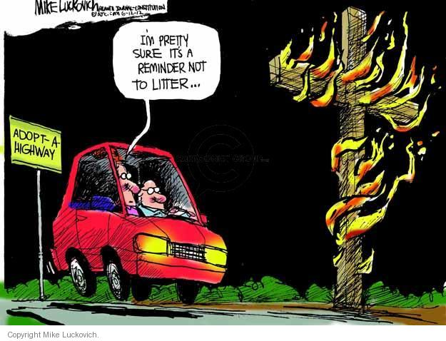 Mike Luckovich  Mike Luckovich's Editorial Cartoons 2012-06-12 highway