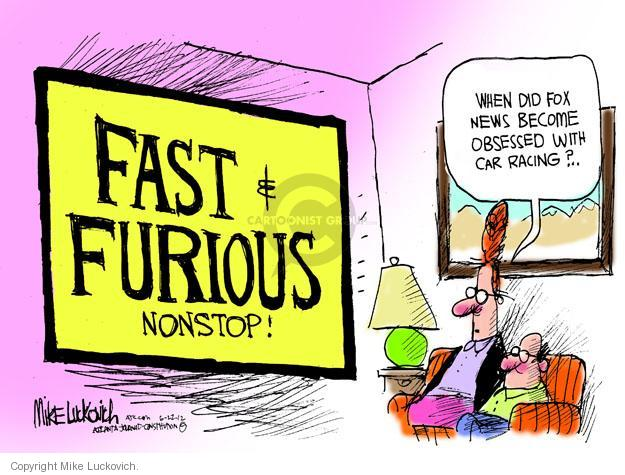 Cartoonist Mike Luckovich  Mike Luckovich's Editorial Cartoons 2012-06-22 television program