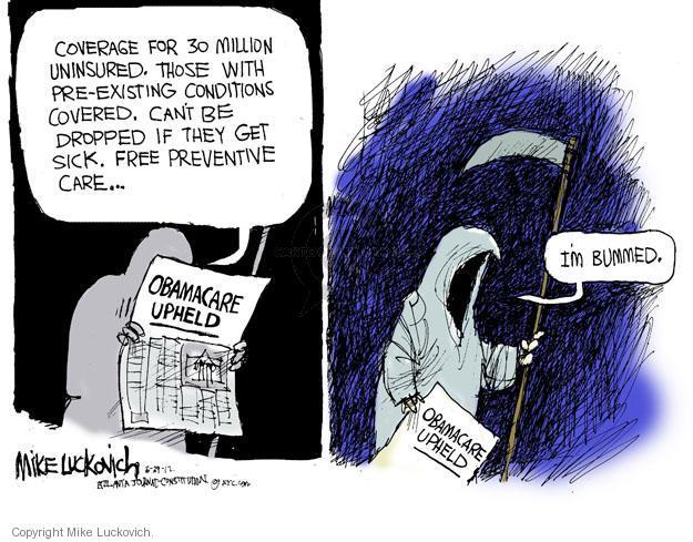Cartoonist Mike Luckovich  Mike Luckovich's Editorial Cartoons 2012-06-29 drop
