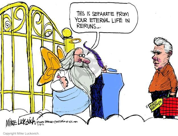Mike Luckovich  Mike Luckovich's Editorial Cartoons 2012-07-08 remembrance