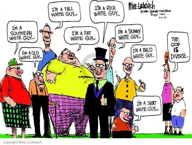 Mike Luckovich  Mike Luckovich's Editorial Cartoons 2012-07-11 republican politician