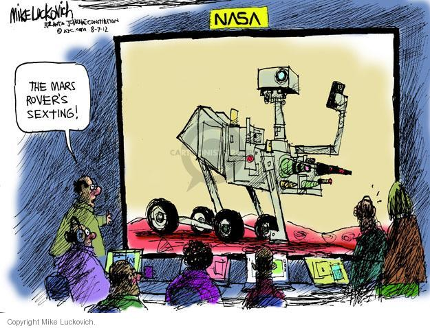 Mike Luckovich  Mike Luckovich's Editorial Cartoons 2012-08-07 space