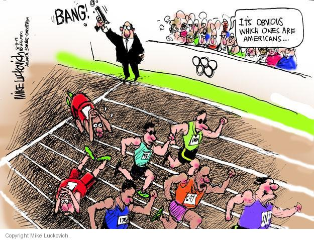 Mike Luckovich  Mike Luckovich's Editorial Cartoons 2012-08-08 2012 Olympics
