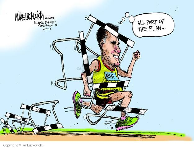 Mike Luckovich  Mike Luckovich's Editorial Cartoons 2012-08-10 2012 Olympics