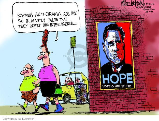 Mike Luckovich  Mike Luckovich's Editorial Cartoons 2012-08-16 Barack Obama