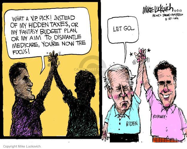 Mike Luckovich  Mike Luckovich's Editorial Cartoons 2012-08-17 republican politician