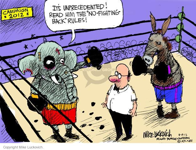 Mike Luckovich  Mike Luckovich's Editorial Cartoons 2012-08-19 boxing