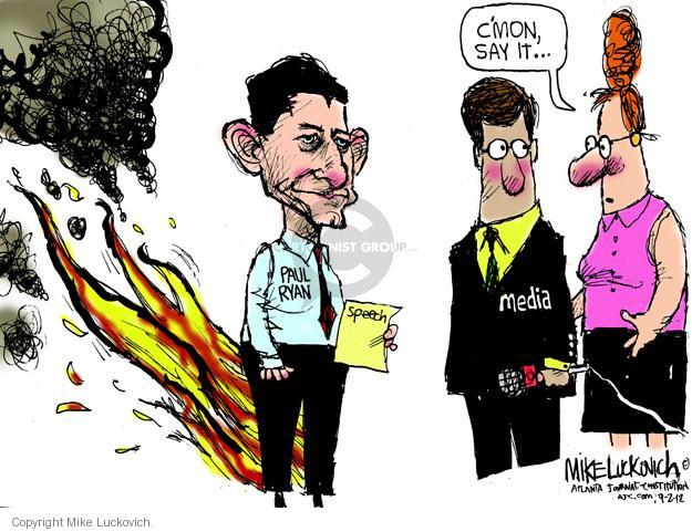 Mike Luckovich  Mike Luckovich's Editorial Cartoons 2012-09-02 republican convention