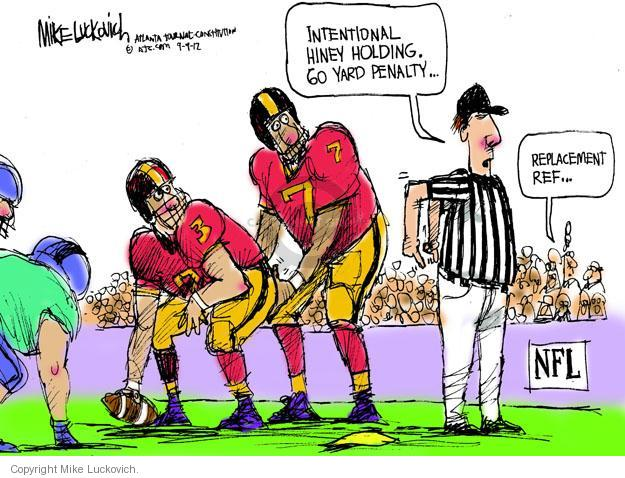 Mike Luckovich  Mike Luckovich's Editorial Cartoons 2012-09-09 NFL