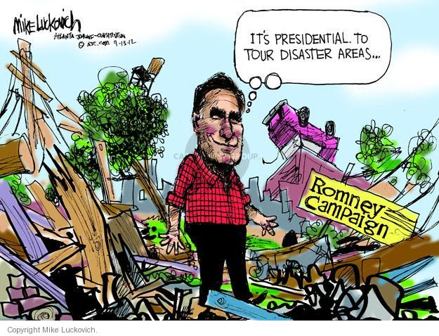 Mike Luckovich  Mike Luckovich's Editorial Cartoons 2012-09-13 presidential election